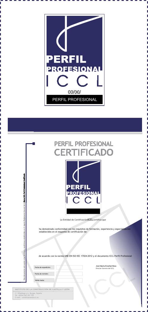 Certificación de Personas | www.iccl.es.